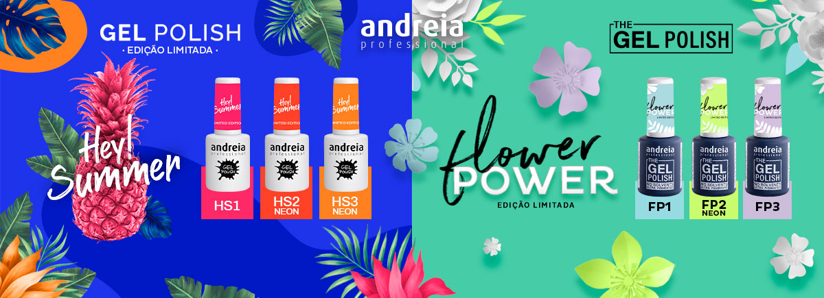 Verniz gel Hey Summer & Flower Power