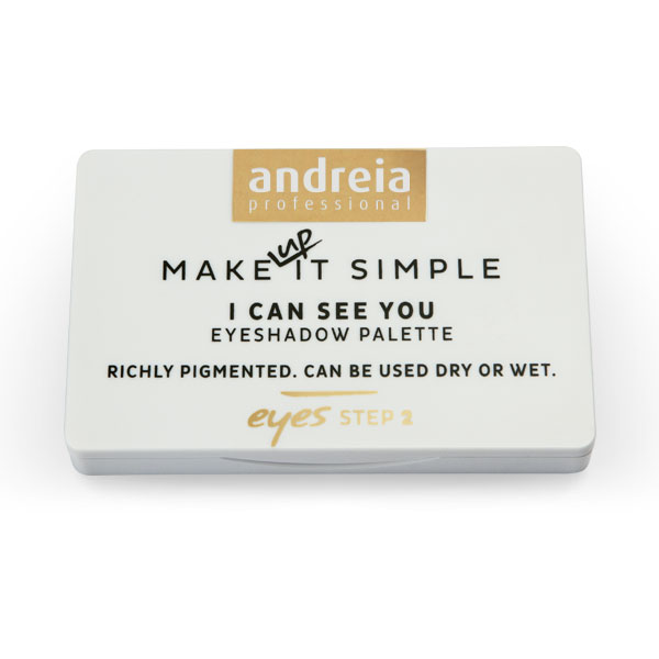 Andreia Makeup I CAN SEE YOU - Eyeshadow Palette 01