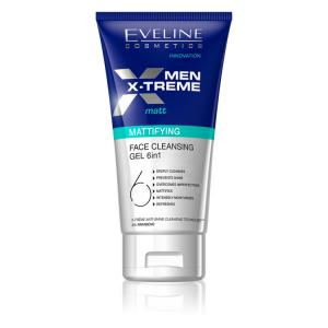 Eveline Men face cleansing gel 6em1 Ref.4181