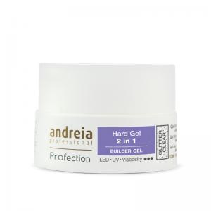 Andreia Hard Gel Gliter Clear  Ref.5079