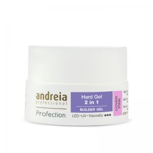 Andreia Hard Gel Cover Pink Ref.5080